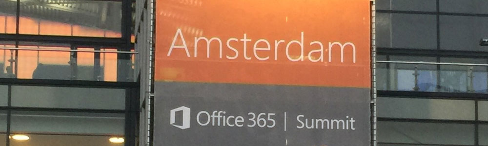Amsterdam Office365 Summit